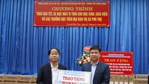 100 chiếc xe đạp đã đến với học sinh nghèo Thị xã Phú Thọ
