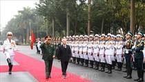 Tổng Bí thư, Chủ tịch nước dự Hội nghị Quân chính toàn quân