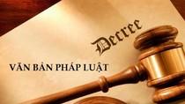 Thủ tướng phân công soạn thảo 3 dự án luật