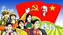 Điện mừng 89 năm thành lập Đảng Cộng sản Việt Nam