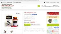 Quảng cáo thực phẩm bảo vệ sức khỏe Stronghair sai quy định