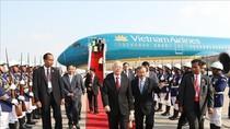 Tổng Bí thư, Chủ tịch nước bắt đầu chuyến thăm cấp nhà nước Vương quốc Campuchia