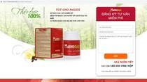Thận trọng với quảng cáo thực phẩm bảo vệ sức khỏe Hamomax