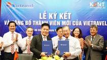 Lễ ký kết hợp đồng và công bố thành viên mới của Vietravel