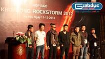Mobifone khởi động RockStorm 2012 với 'khát khao đột phá'