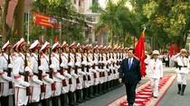 Học viện An ninh nhân dân đón nhận Huân chương Sao Vàng