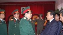 Bộ trưởng Bộ Quốc phòng viếng Chủ tịch Triều Tiên tại Hà Nội