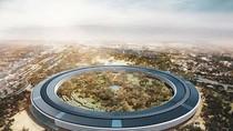 Cận cảnh trụ sở như phi thuyền của Apple