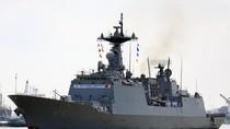 Tàu khu trục Hàn Quốc thăm TP Hồ Chí Minh