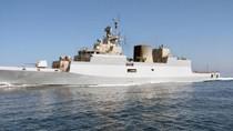 Ấn Độ bàn giao tàu hộ vệ tàng hình Type P28 thứ hai cho hải quân