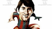 Lionel Messi - 'chú bọ chét' đáng yêu (Biếm họa sao bóng đá kỳ 2)