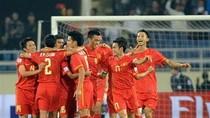 ĐT Việt Nam so tài với Trung Quốc và Hồng Kông vào tháng 6