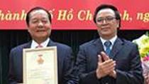 """Ông Tất Thành Cang được trao Kỷ niệm chương """"Vì sự nghiệp đối ngoại Đảng"""""""