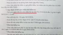 Giáo viên trường Vĩnh Lộc được mang bài kiểm tra học kỳ về nhà chấm điểm