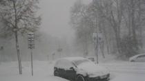 Hình ảnh bão tuyết phủ trắng xóa toàn thủ đô Stockholm - Thụy Điển