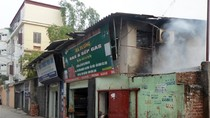 Hà Nội: Nổ cửa hàng gas, một người bị thương nặng