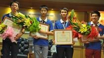Con công nhân giành HCB Olympic Tin học