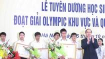"""""""Giữ chân"""" học sinh đoạt giải Olympic quốc tế: Khó khăn!"""