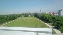Quần thể sân golf Khu sinh thái Hòa Phát trên đất nông nghiệp chân cầu Vĩnh Tuy
