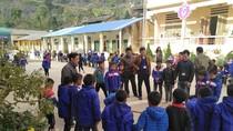 Một ngày ở trường biên giới Lũng Táo