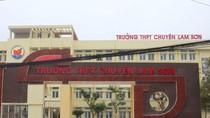 Những sai phạm chấn động ở trường chuyên Lam Sơn