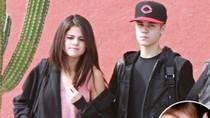 Selena Gomez đeo nhẫn ở ngón áp út