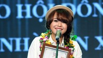 Thái Trinh đoạt cú đúp ấn tượng tại gala Bài hát Việt