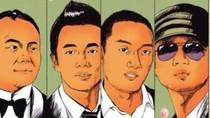 """Lưới tình """"chằng chịt"""" Triệu Vy, Châu Tấn... với 4 thiếu gia"""