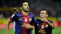Góc ảnh: Fabregas, David Villa thay Messi cứu nguy cho Barca