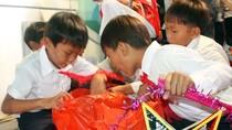 """Chùm ảnh: Học sinh đảo Lý Sơn với """"Trung thu kết nối yêu thương"""""""