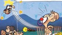 """Tranh vui: Abramovich vứt đi món đồ chơi """"Villa-Boas"""""""