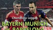 Link Sopcast xem bóng đá: Bayern Munich - Barcelona
