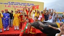 Xem các 'ông' trâu tranh tài tại lễ hội chọi trâu Đồ Sơn năm 2018