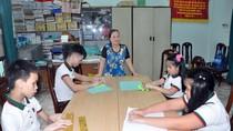 Lớp học đặc biệt dành cho trẻ em khiếm thị