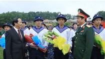 2.550 thanh niên Hải Phòng lên đường làm nhiệm vụ bảo vệ Tổ quốc