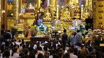 Công an vào cuộc xác minh hoạt động mê tín dị đoan tại chùa Ba Vàng