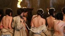 Lưu Diệc Phi bị quất roi, lột trần trong phim mới
