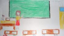 Tranh dự thi của Bảo Đan, lớp 4B, Tiểu học Dịch Vọng A(MS: 143)