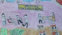 Tranh dự thi của Thị phương, lớp 7A, Trường Nguyễn Đình Chiểu(MS:351)