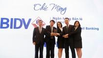 """BIDV năm thứ 3 đạt giải thưởng """"Ngân hàng Bán lẻ tiêu biểu"""""""