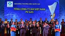 PVN có 5 doanh nghiệp được công nhận Thương hiệu Quốc gia năm 2018