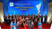Vinamilk liên tiếp được bình chọn là thương hiệu quốc gia