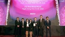"""BIDV lần thứ 5 đăng đỉnh """"Ngân hàng Bán lẻ tốt nhất Việt Nam"""""""