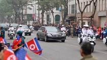 Chủ tịch Triều Tiên Kim Jong Un đã tới Hà Nội