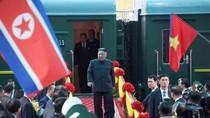 Chủ tịch Triều Tiên Kim Jong Un đến ga Đồng Đăng, Lạng Sơn