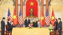 Ký kết 4 văn kiện hợp tác giữa Việt Nam - Hoa Kỳ