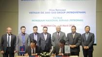 PVN và Công ty Dầu khí Quốc gia Malaysia kí ký thỏa thuận khung