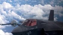 Cận cảnh bộ phận nhận dầu trên không của F-35B