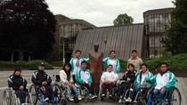 Chùm ảnh: Đoàn Paralympic Việt Nam tập huấn tại Ireland