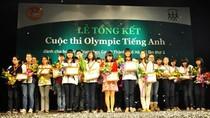 Thí sinh đạt giải Olympic tiếng Anh 2013 sẽ được cộng điểm vào lớp 10